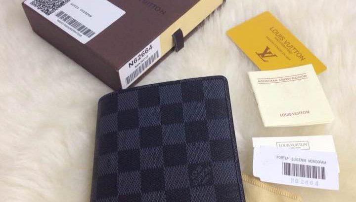 LOUIS VUITTON кошелек Киев Украина клатч портмоне LV N62664 шахматка