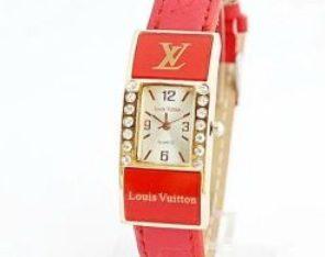 LOUIS VUITTON часы Киев Украина женский браслет LV красный