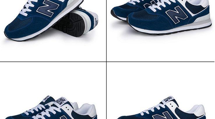 NEW BALANCE 574 Киев Украина кроссовки кеды унисекс синий с белым