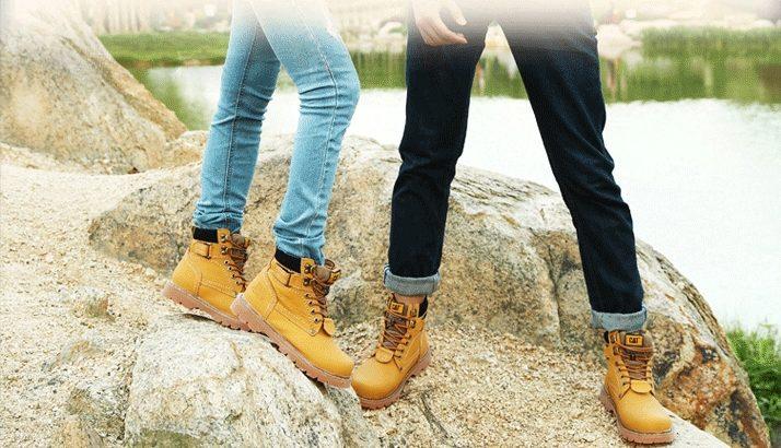 CAT CATERPILLAR Киев Украина ботинки timberland обувь цвет: желтый