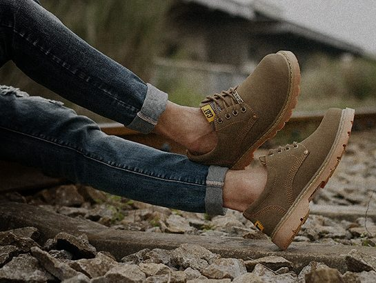 CAT CATERPILLAR Киев Украина туфли мужские ботинки обувь цвет: коричневый