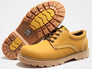 CAT CATERPILLAR Киев Украина туфли мужские ботинки обувь цвет: желтый