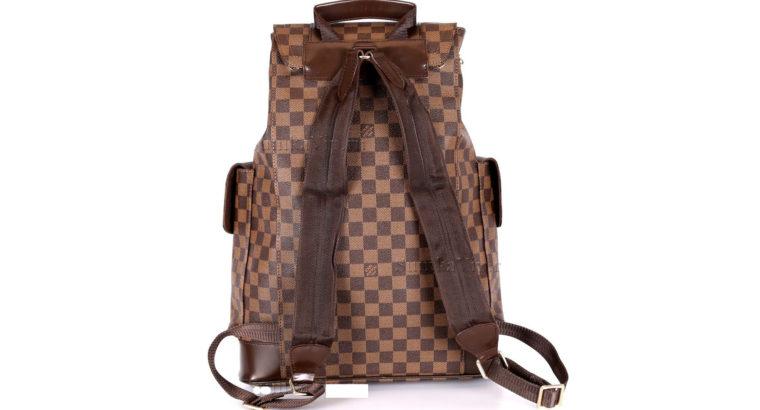 LOUIS VUITTON рюкзак Киев Украина сумка CHRISTOPHER PM LV N41379 шахматка коричневый