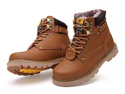 CAT CATERPILLAR Киев Украина ботинки на меху зима timberland обувь коричневые