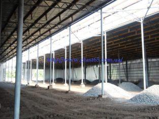 Строительство зернохранилищ, овощехранилищ, ангаров для животных (свинарники, коровники)