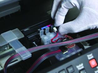 Установка СНПЧ и ремонт струйных принтеров Epson Canon HP выезд Киев