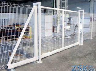 Ворота откатные (модульные) H-1,48м, L-3,5м