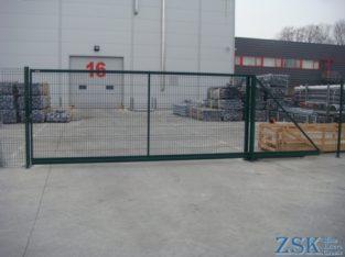 Ворота откатные (модульные) H-1,48м, L-4,5м