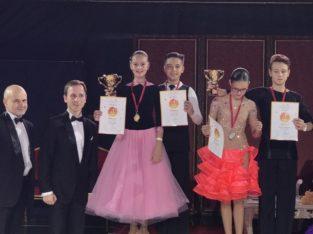 Платье турнирное Юниоры-1, Ювеналы для бальных танцев Стандарт