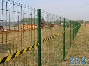 Забор из сетки высотой 0.93м Секция КЛАССИК 4мм