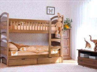 Двухъярусная кровать Карина с ящиками.