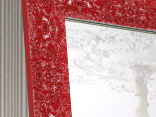 Зеркало напольное, настенное в раме