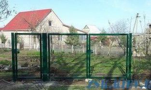 Ворота из сетки ЭКО H-2,03м, L-3м