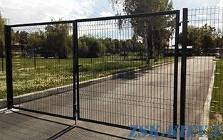 Ворота из сетки ЭКО H-1,68м, L-4м