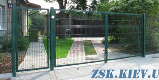 Ворота из сетки Классик H-2.4м, L-3м