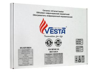Настенные керамические обогреватели Vesta Energy. Заказатькерамические панели