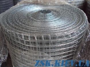 Сетка сварная оцинкованная 25х12х0.7мм