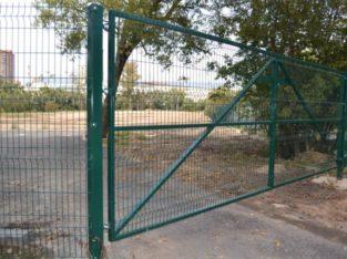Забор из сетки высотой 2.43м Секция ПРОМ 5/4/5мм
