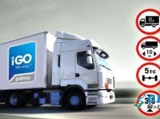 Прошивка iGO Primo Nextgen Грузовик Карты TIR Удаленная установка.