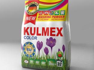 Порошок для кольорових речей KULMEX 3 кг. Гурт.
