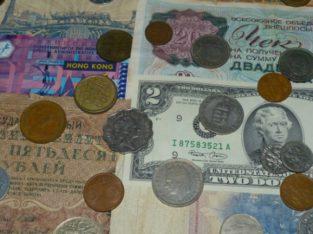 Продам коллекцию интересных монет и купюр 18-20 век разных стран .
