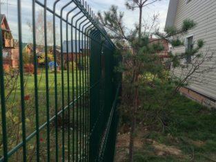 Забор из сетки высотой 1.48м Секция КЛАССИК 5мм