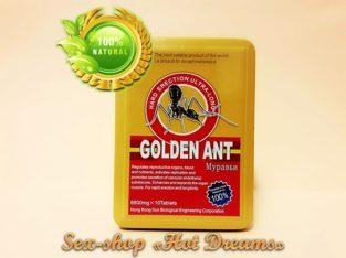 Эффективный препарат Gold Ant продлевает время полового акта (10 штук)