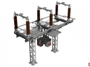 Продам Рг-110-150 (ухл1) Разъединители горизонтально-поворотного типа