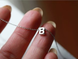 Ожерелье колье намисто подвеска цепочка кулон медальон амулет оберег уникальный подарок серебро ланцюжок личная буква