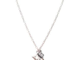 Ожерелье колье намисто подвеска цепочка кулон путеводная звезда кристалл медальон амулет оберег ключик от сердца для подарка серебро ланцюжок
