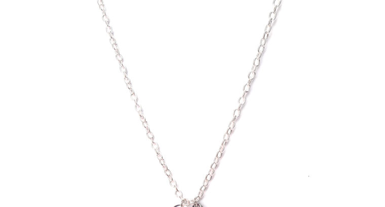 Ожерелье колье намисто подвеска цепочка кулон путеводная звезда медальон амулет кристалл оберег для подарка серебро ланцюжок личная буква