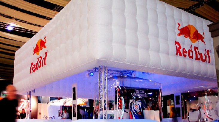 Надувные конструкции для оформления выставок
