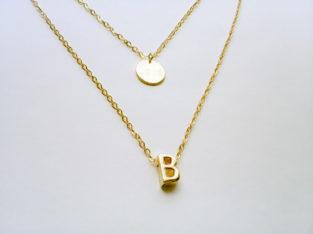 Ожерелье колье намисто подвеска цепочка кулон медальон амулет оберег уникальный подарок золото ланцюжок личная буква Love Любовь