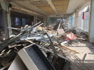 Демонтаж фундамента, стен, стяжки, штукатурки…демонтаж старого ремонта
