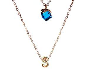 Бесподобное ожерелье колье намисто подвеска цепочка кулон медальон амулет оберег уникальный подарок золото серебро ланцюжок личная буква