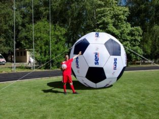 Надувные рекламные шары и сферы Advertising inflatable balls and sphere