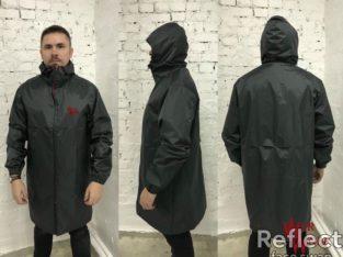 Стильная, непромокаемая куртка-дождевик + чехол в подарок