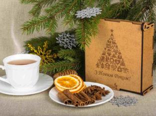 Подарок на новый год. Подарочный набор чая