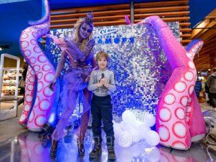 Надувной рекламный осьминог Inflatable octopus, Advertising Inflatable octopus