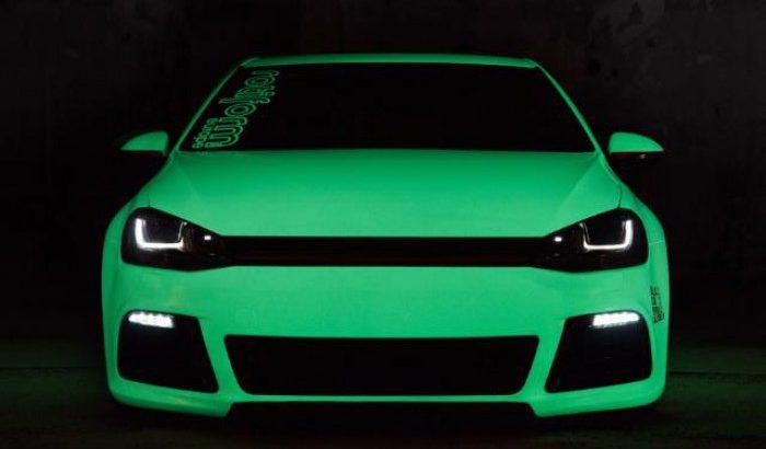 Светящаяся краска Нокстон для тюнинга авто