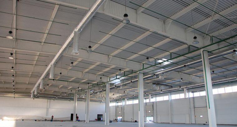 Строительство ангара, склада, спортивного зала, СТО, автосалона, ТРЦ
