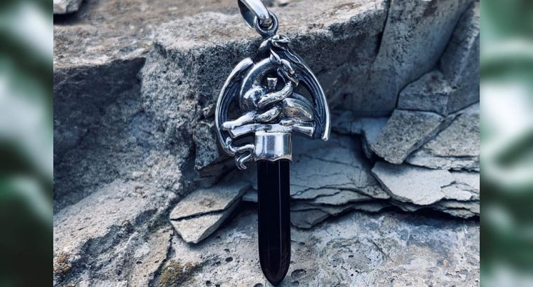 Срібний кулон — оберіг «Грифон охоронець»