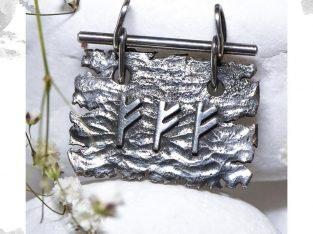 Срібний кулон «Три Феху»