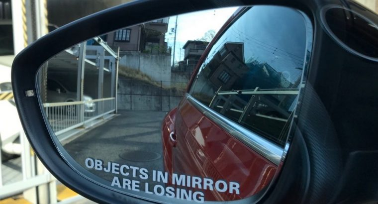 Наклейки на боковые зеркала заднего вида Objects in Mirror are Losing