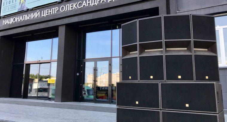 Аренда звукового оборудования в Киеве.