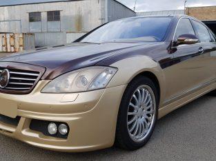 Продажа MERCEDES-BENZ S 550 V8 4MATIC LANG (W221), 2007 г., 337000 км., коричневый, A.R.T. TUNING (Киев, Украина)