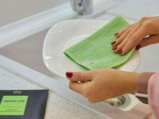 Aquamagic absolute волшебная экологическая салфетка для посуды greenway