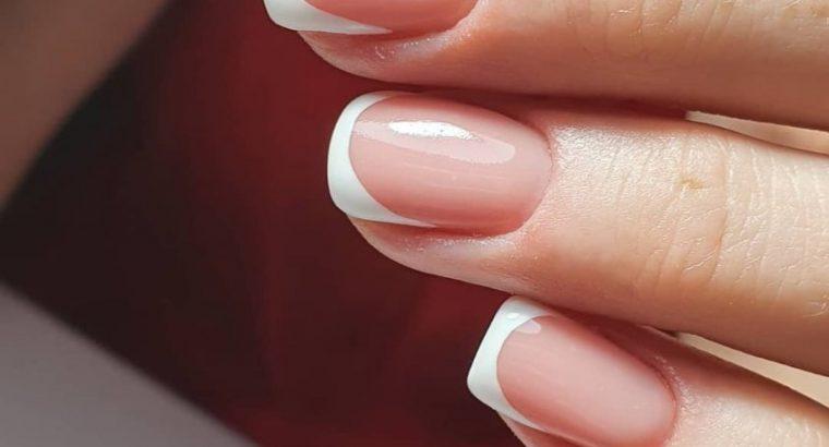 Наращивание ногтей, коррекция ногтей, покрытие гель лака (шеллак)