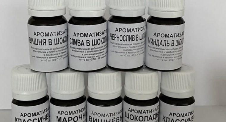 Ароматизаторы и Вкусовые эссенции для напитков