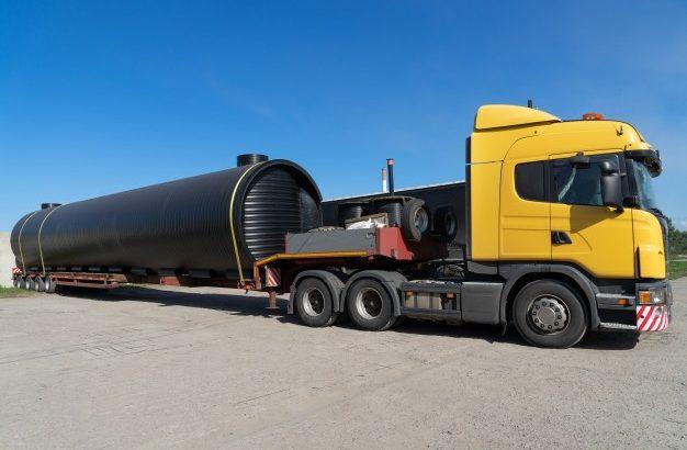 Негабаритные перевозки тралом | Аренда трала